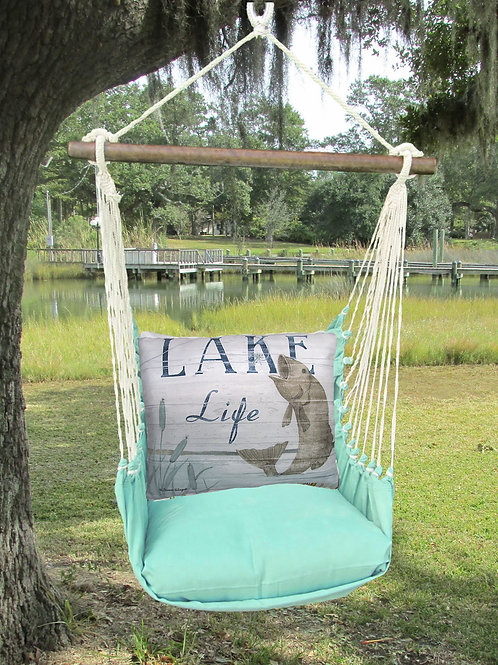 Lake Life Fish Swingset, SFSW203-SP