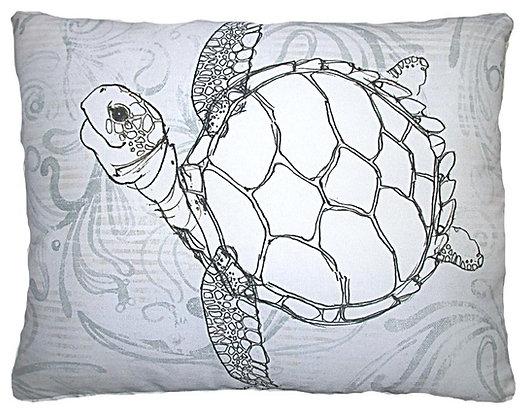 Sea Turtle Pillow, RR208, 2 sizes