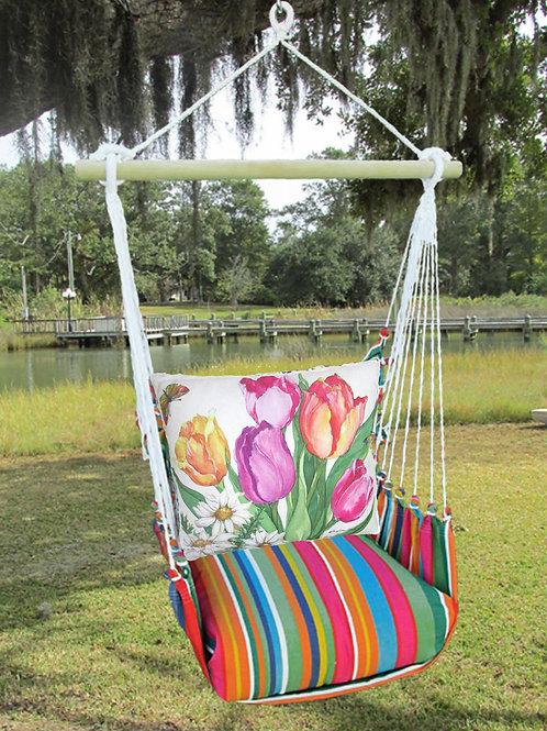 LJSR805-SP, Tulips Swing Set