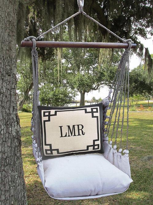 LT Swing Set w/ Border w/ Monogram, LTLH603-SP