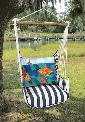 TB Swing Set w/ Fish & Fisherman, TBRR615-SP