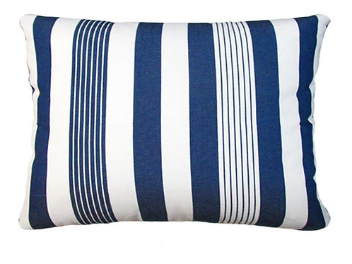 Marina Stripe Fabric Pillow, MA170HP, 19x24