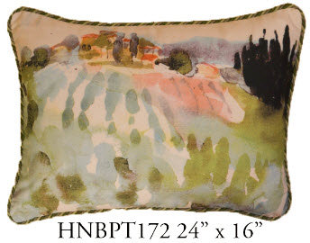 Landscape Pillow, 24x16, HNBPT172