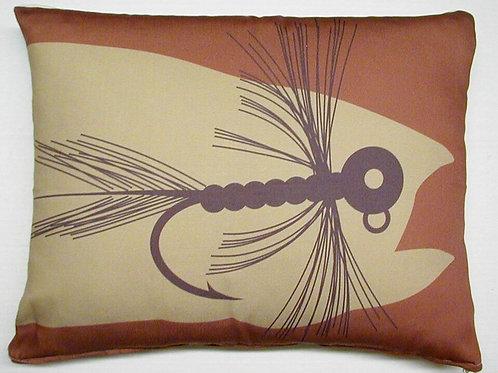 Fishing Lure Pillow, CFFHP, 19x24