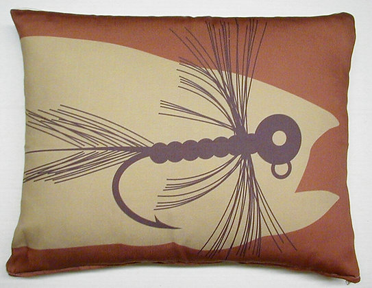 Fishing Lure Pillow, CFFHP, 19x24