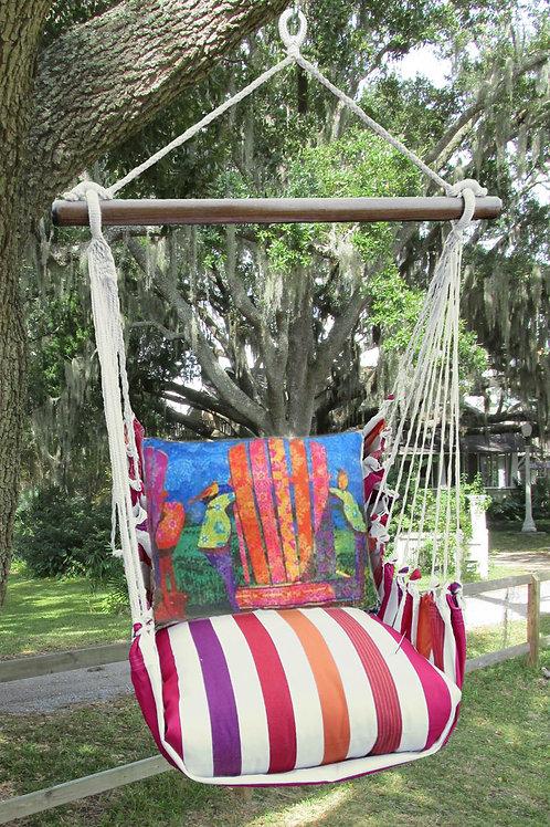 CR Swing Set w/ Adirondack Pillow, CRTC610-SP