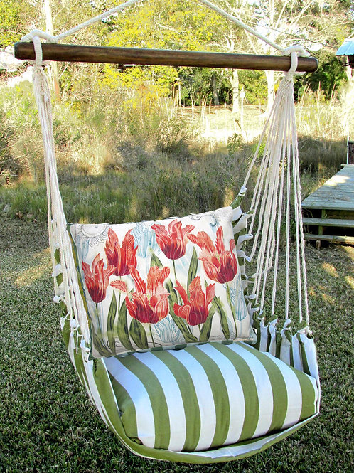 SP Swing Set w/ Tulips Pillow, SPTC704-SP