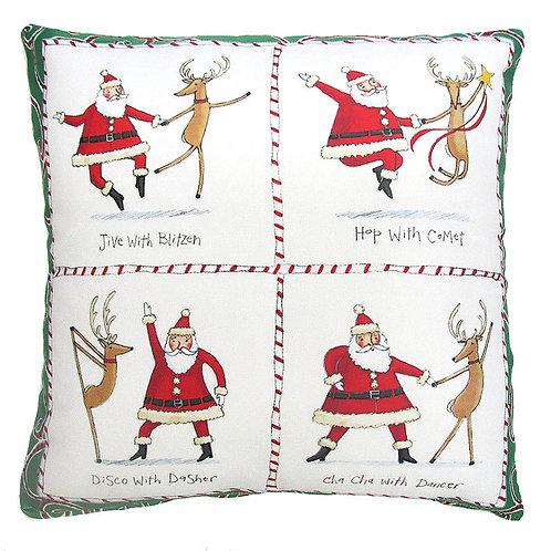 Dancing Santa 1, TC612LCS, 18x18