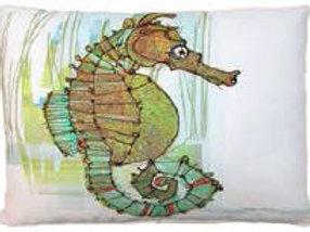 MM Pillow, Seahorse, RRSIMHP, 19x24