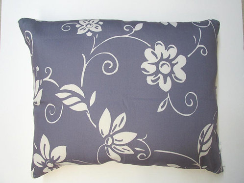 Summer Toile Blue Pillow, STIHP, 19x24
