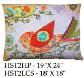 Bird Pillow, HST2, 2 sizes