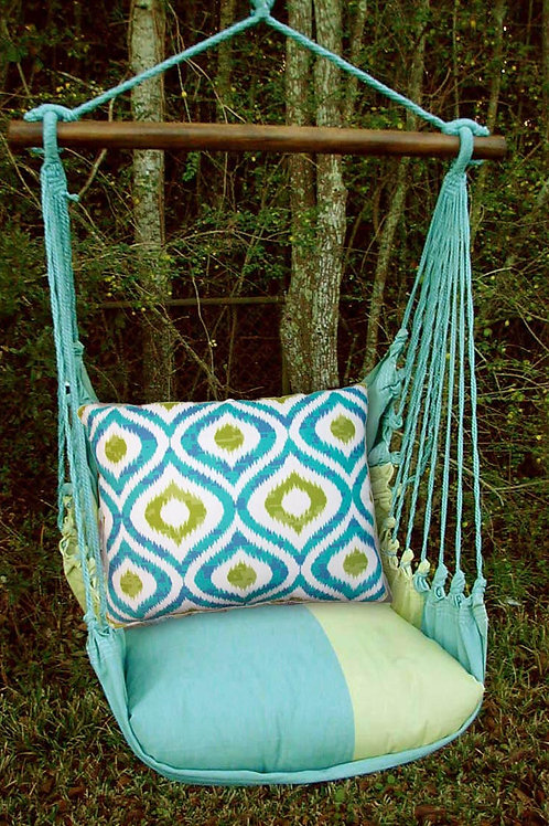 MM Swing Set w/ Geometric Pillow, MMLHIBB-SP