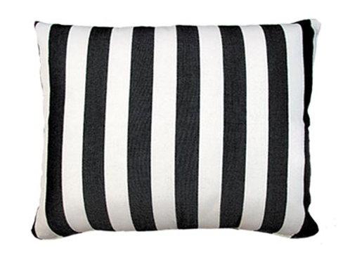 True Black Fabric Pillow, TB258HP, 19x24