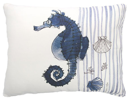 Seahorse Pillow, RR916, 2 sizes available
