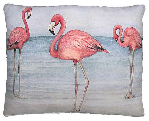 Flamingo Trio Pillow, SW201, 2 sizes
