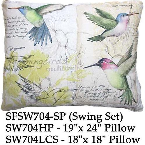 Hummingbirds, SW704, 2 sizes