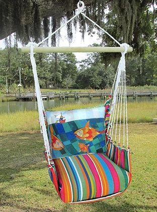 LJ Swing Set w/ Fish & Fisherman, LJRR615- SP