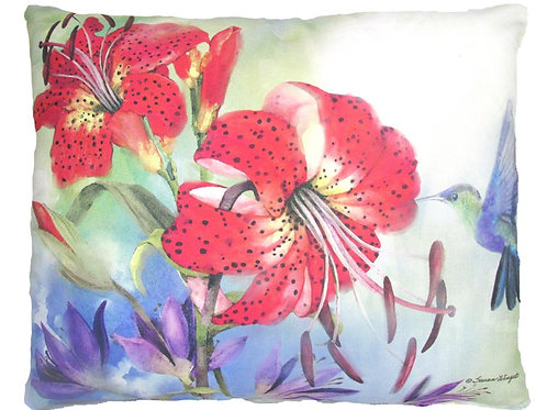 Red Lillies, SW805, 2 sizes