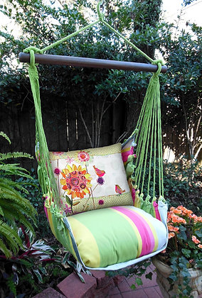 FL Swing Set, Birds and Flowers, FLRRWM-SP