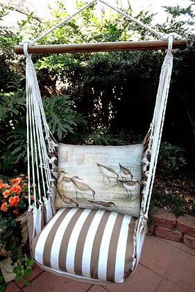 SC Swing Set w/ Seabird Pillow, SCWSB-SP