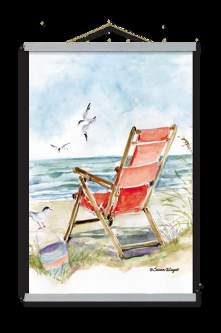 Beach Chair Wall Art, SW905, 2 sizes