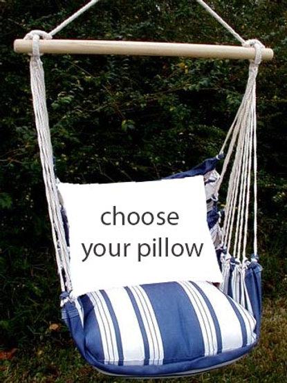 Marina Stripe Swing Set (Without Back Pillow)