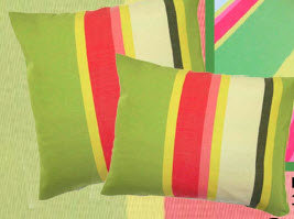 Fresh Lime Fabric Pillow, FL168HP, 19x24