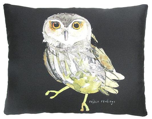 Owl on Black Background, RR910, 2 sizes