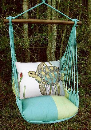 MM Swing Set w/ Turtle Pillow, MMRR502-SP