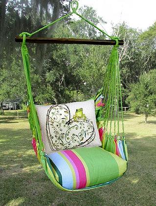 FL Swing Set, Heart w/ Frog, FLRR605-SP