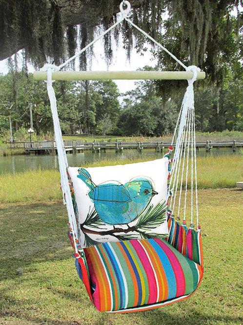 Blue Bird on Branch Swing Set, LJRR908-SP