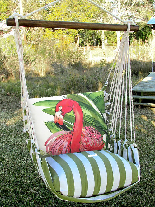 SP Swing Set w/ Flamingo Pillow, SPRR707-SP