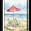 Thumbnail: Red Umbrella Wall Art, SW207, 2 sizes