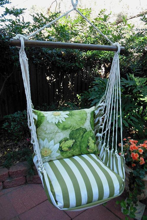 SP Swing Set w/ Lily Pad Pillow, SPFOLP-SP
