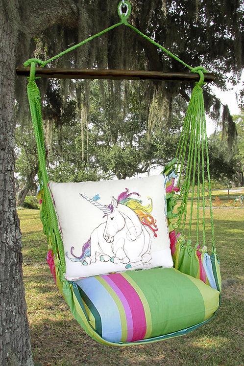 Unicorn Swing Set, FLRR808-SP