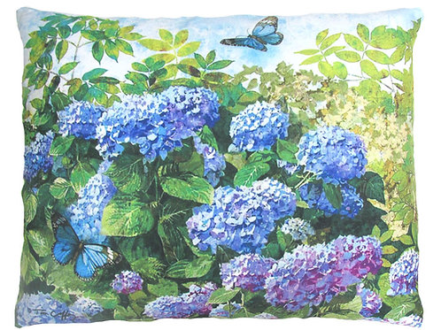 Hydrangeas & Butterfly, TC802, 2 sizes