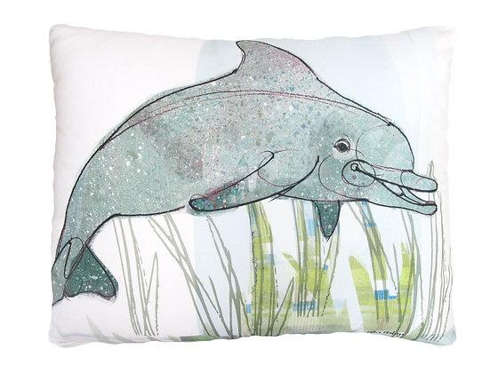 Dolphin Pillow, RR803, 2 sizes