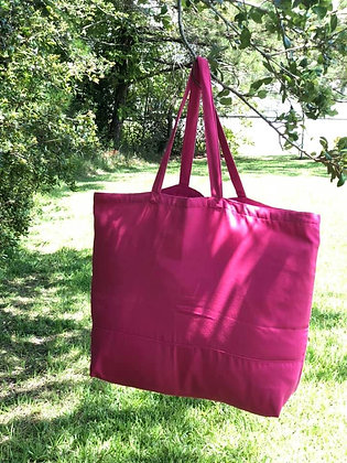 Pink! Fabric Tote