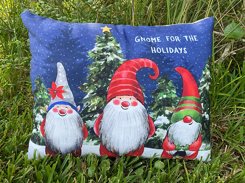 SN206HP, Christmas Gnomes Pillow 19x24 only