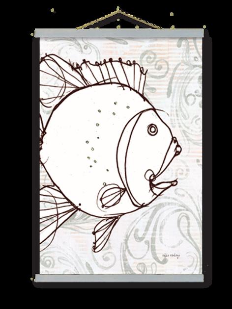 Fish Wall Art, RR206, 2 sizes