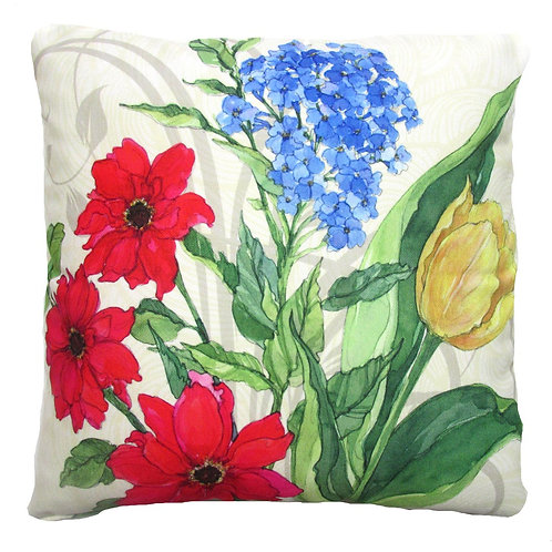 Floral 1, SR701LCS, 18x18 only