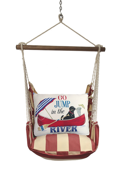 Go Jump in the River Swing Set, AMMLT807-SP