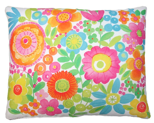 PK Pillow, Bright Flowers, BC504HP, 19x24