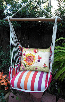 CR Swing Set, birds and Flowers, CRRRWMB-SP