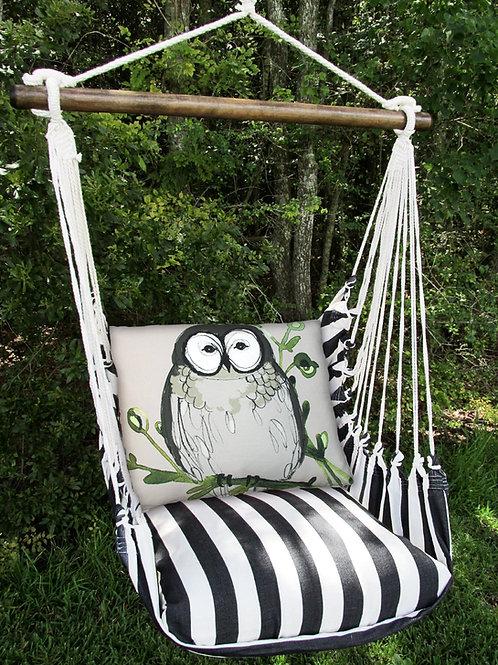 TB Swing Set w/ Owl Pillow, TBRROGB-SP