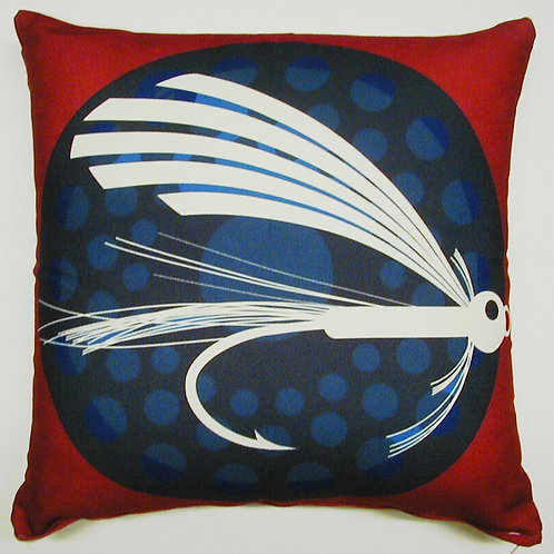 Fishing Lure Pillow, MFLCS, 18x18
