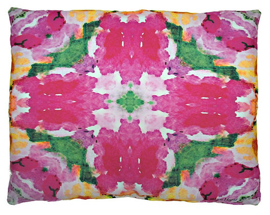 Pink Abstract Pillow, LH202, 2 sizes