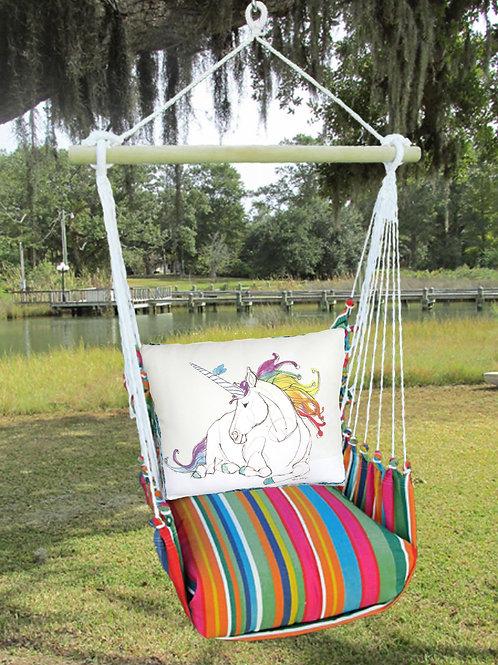 LJRR808-SP, Unicorn Swing Set