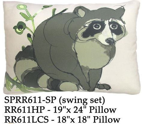 Raccoon, RR611, 2 sizes