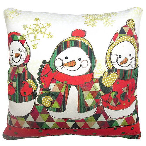 Snowman Trio, RR626LCS, 18x18